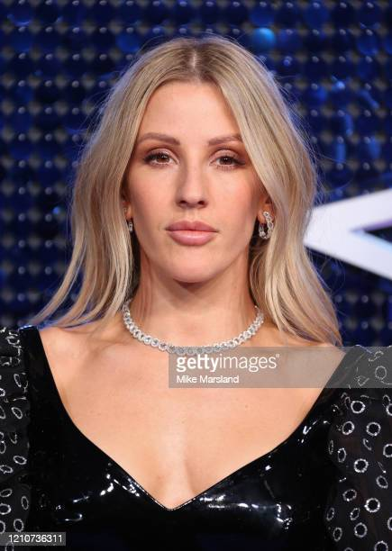 Ellie Goulding attends The Global Awards 2020 at Eventim Apollo, Hammersmith on March 05, 2020 in London, England.