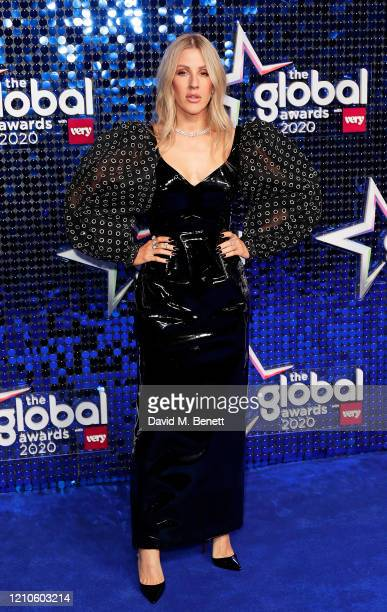 Ellie Goulding attends The Global Awards 2020 at the Eventim Apollo Hammersmith on March 05 2020 in London England