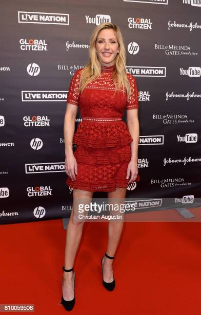 Ellie Goulding attends the Global Citizen Festival at the Barclaycard Arena on July 6 2017 in Hamburg Germany