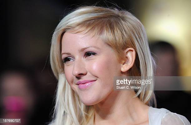 Ellie Goulding attends the Les Miserables World Premiere at the Odeon Leicester Square on December 5 2012 in London England