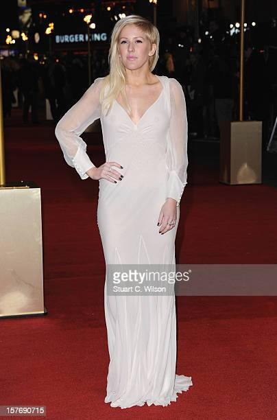 Ellie Goulding attends the 'Les Miserables' World Premiere at the Odeon Leicester Square on December 5 2012 in London England