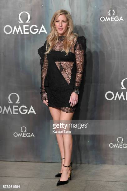Ellie Goulding attends the Lost In Space event to celebrate the 60th anniversary of the OMEGA Speedmaster at the Tate Modern on April 26 2017 in...