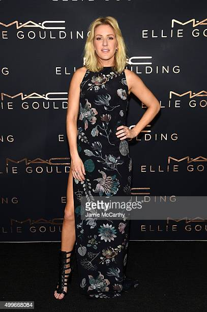 Ellie Goulding attends the MAC Cosmetics Ellie Goulding Art Basel performance at theMiami Beach Edition on December 2 2015 in Miami Florida