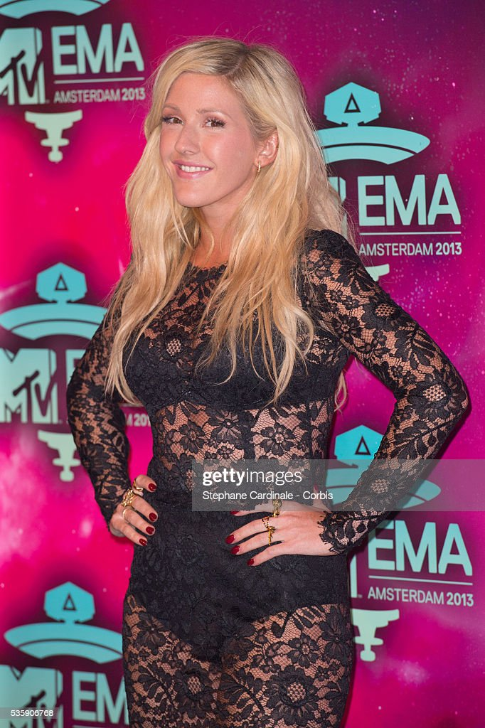 Ellie Goulding attends the MTV EMA's 2013 at the Ziggo Dome in Amsterdam, Netherlands.