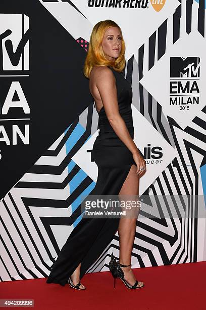 Ellie Goulding attends the MTV EMA's 2015 at Mediolanum Forum on October 25, 2015 in Milan, Italy.