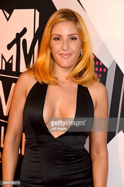 Ellie Goulding attends the MTV EMA's 2015 at Mediolanum Forum on October 25 2015 in Milan Italy