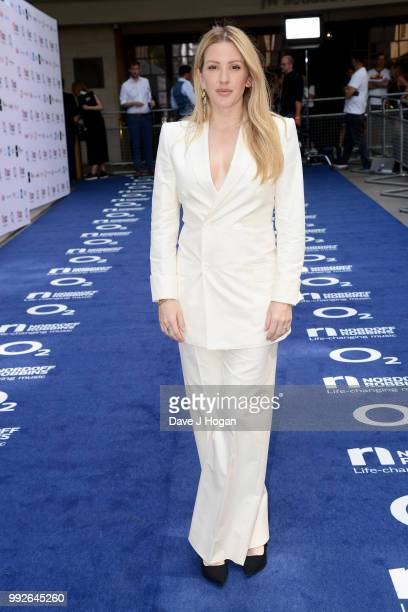 Ellie Goulding attends the Nordoff Robbins' O2 Silver Clef Awards at Grosvenor House on July 6 2018 in London England