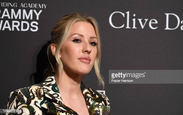 Ellie Goulding attends the Pre-GRAMMY Gala and GRAMMY Salute to Industry Icons Honoring Clarence Avant at The Beverly Hilton Hotel on February 9,...