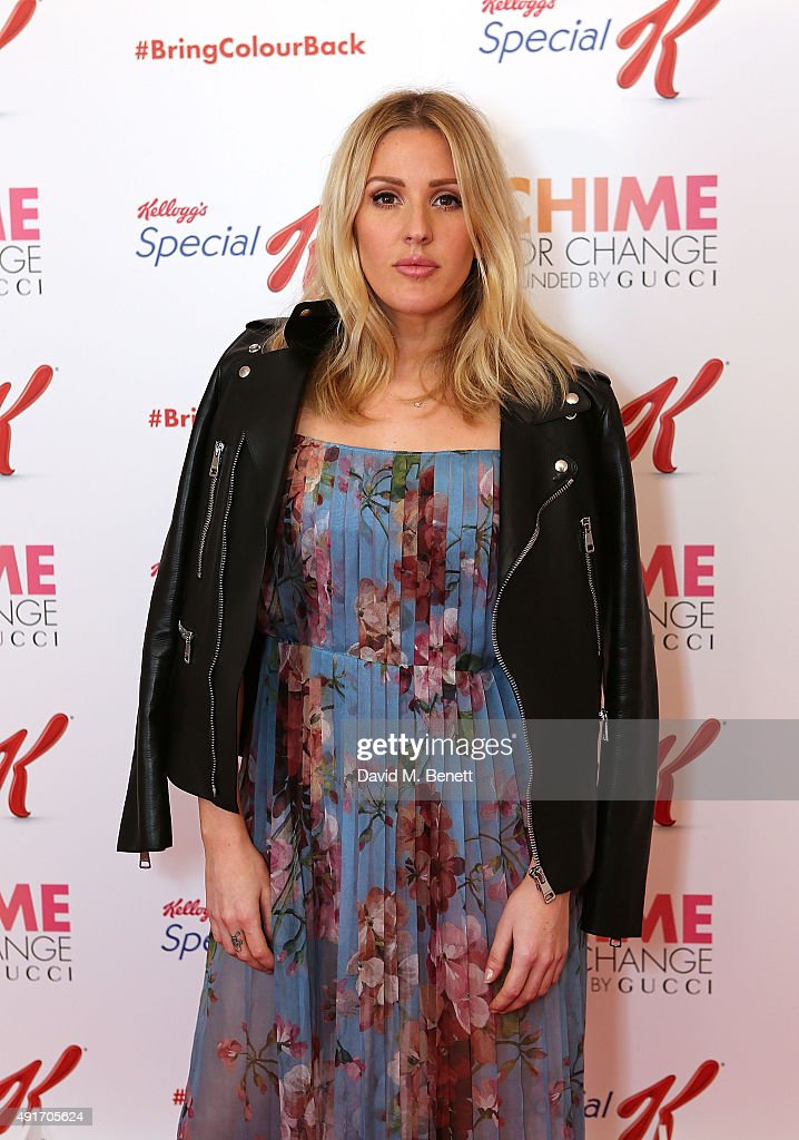Ellie Goulding attends the Special K Bring Colour Back launch at The Hospital Club on October 7, 2015 in London, England.