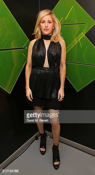 Ellie Goulding attends the Universal Music BRIT Awards AfterParty 2016 in collaboration with Soho House and BACARDI on February 24 2016 in London...