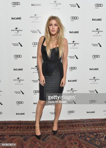 Ellie Goulding attends the Universal Music BRIT Awards AfterParty 2017 hosted by Soho House and BACARDÍ at 180 The Strand on February 22 2017 in...