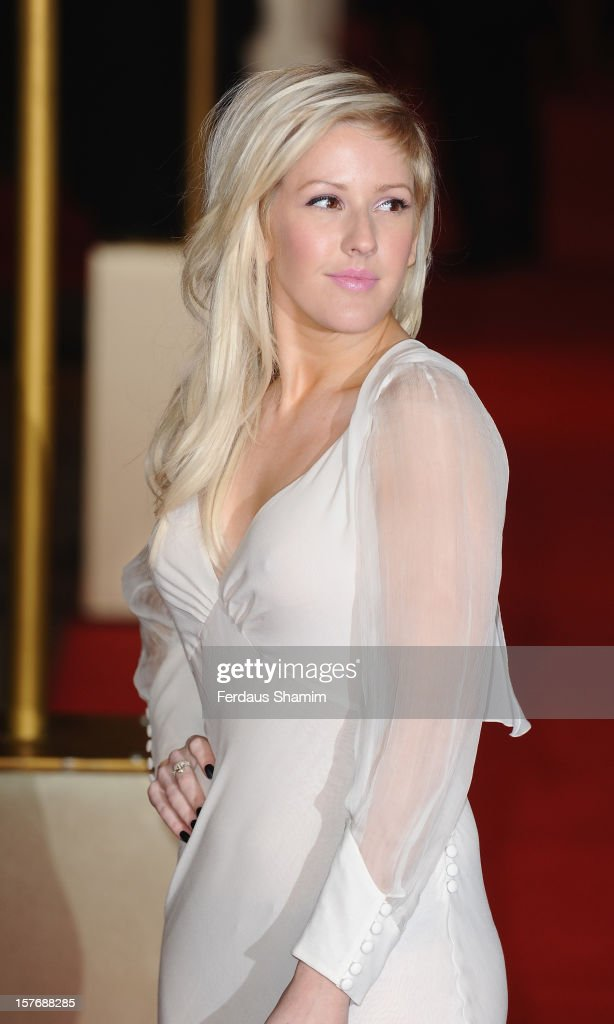 Ellie Goulding attends the World Premiere of 'Les Miserables' at Odeon Leicester Square on December 5, 2012 in London, England.
