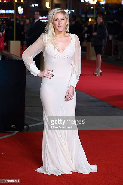Ellie Goulding attends the World Premiere of 'Les Miserables' at Odeon Leicester Square on December 5 2012 in London England