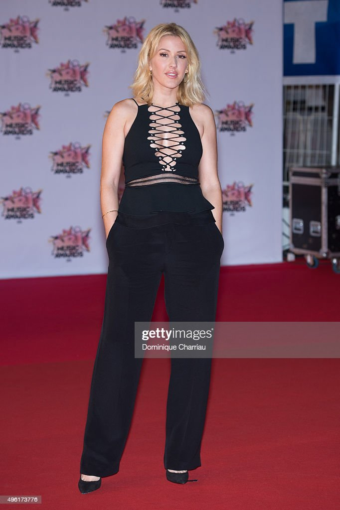 Ellie Goulding attends the17th NRJ Music Awards Red Carpet Arrivals At Palais Des Festivals In Cannes on November 7, 2015 in Cannes, France.