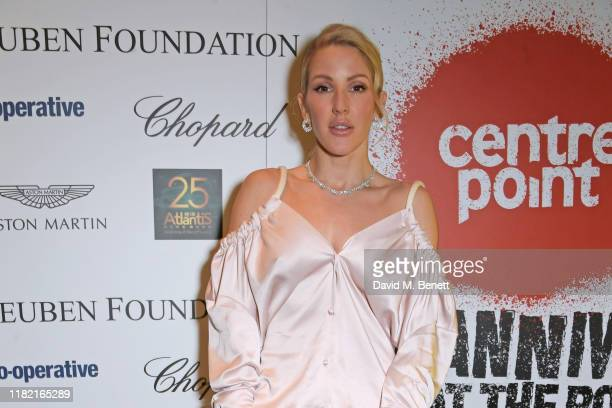 Ellie Goulding joins Patron of Centrepoint HRH The Duke of Cambridge young people supported by Centrepoint and the charity's staff ambassadors and...