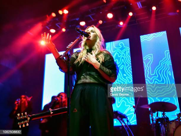 Ellie Goulding kicked off the second night of JBL Fest an exclusive threeday music experience hosted by JBL This intimate invite only performance was...