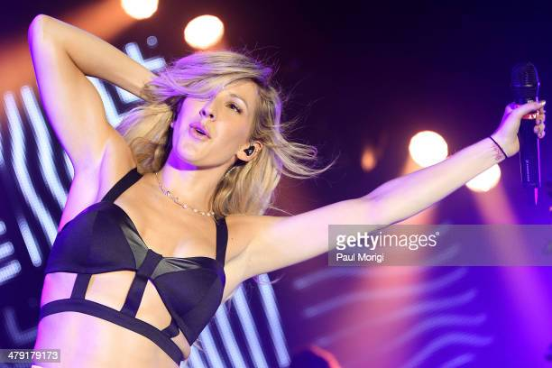 Ellie Goulding performs at Echostage on March 16, 2014 in Washington, DC.