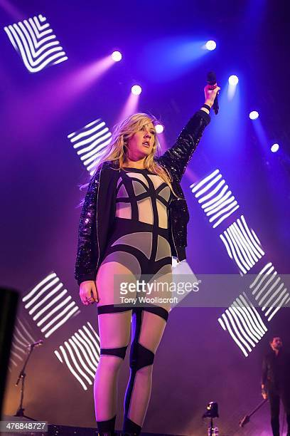 Ellie Goulding performs at Nottingham Capital FM Arena on March 5 2014 in Nottingham England