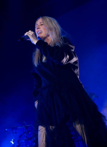 GBR: Ellie Goulding Performs At O2 Academy Bournemouth
