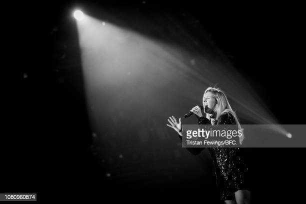 Ellie Goulding performs at The Fashion Awards 2018 In Partnership With Swarovski at Royal Albert Hall on December 10 2018 in London England