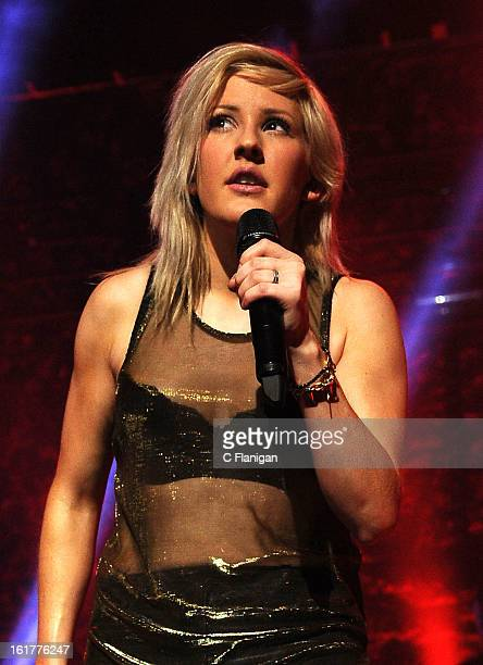 Ellie Goulding performs at The Fox Theatre on February 8 2013 in Oakland California
