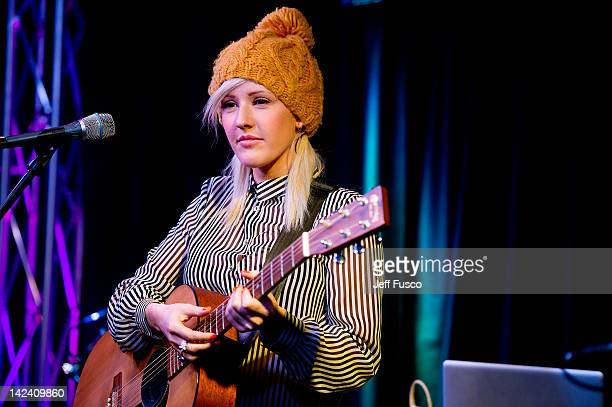 Ellie Goulding performs at the Q102 WISX iHeart Performance Theater on April 4 2012 in Bala Cynwyd Pennsylvania