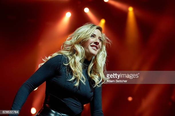 Ellie Goulding performs at Xcel Energy Center on May 5, 2016 in St Paul, Minnesota.