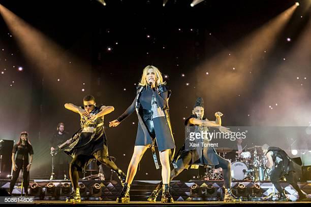 Ellie Goulding performs in concert at Sant Jordi Club on February 5 2016 in Barcelona Spain