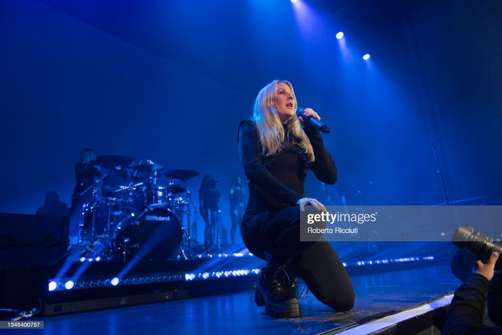 Ellie Goulding Performs At O2 Academy, Glasgow : News Photo