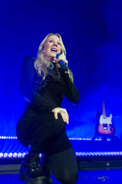 GBR: Ellie Goulding Performs At O2 Academy, Glasgow