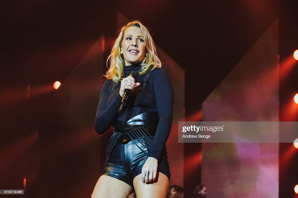 Ellie Goulding Performs At Sheffield Arena