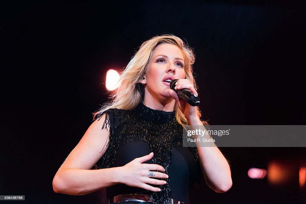 Ellie Goulding In Concert - Alpharetta, GA : News Photo