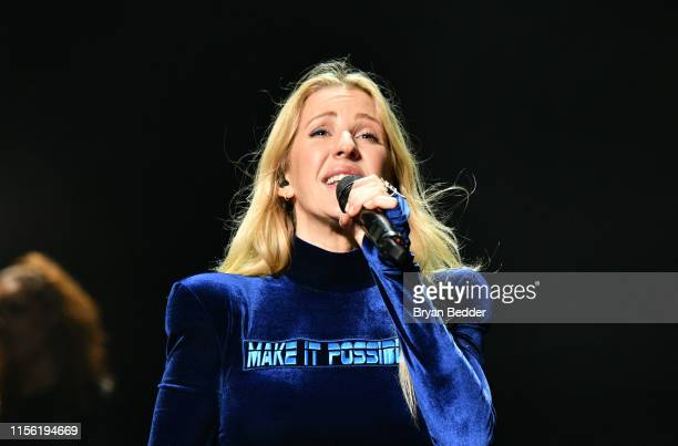 Ellie Goulding performs onstage during 2019 1035 KTU KTUphoria presented by Pepsi at Northwell Health at Jones Beach Theater on June 15 2019 in...