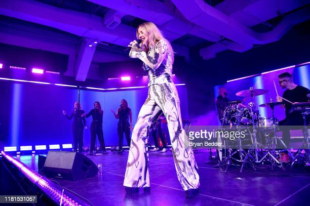 Ellie Goulding performs onstage during Vevo's 10Year Anniversary Event on October 16 2019 in New York City