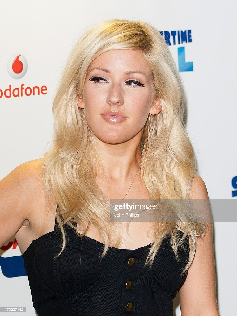 Ellie Goulding poses in the Media Room at the Capital Summertime Ball at Wembley Arena on June 9, 2013 in London, England.