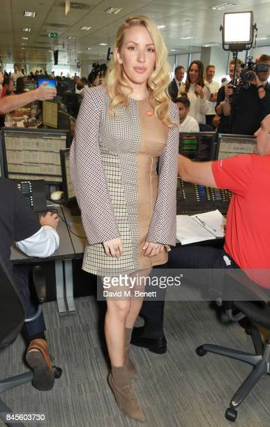 Ellie Goulding representing Centrepoint attends BGC Charity Day on September 11 2017 in London United Kingdom
