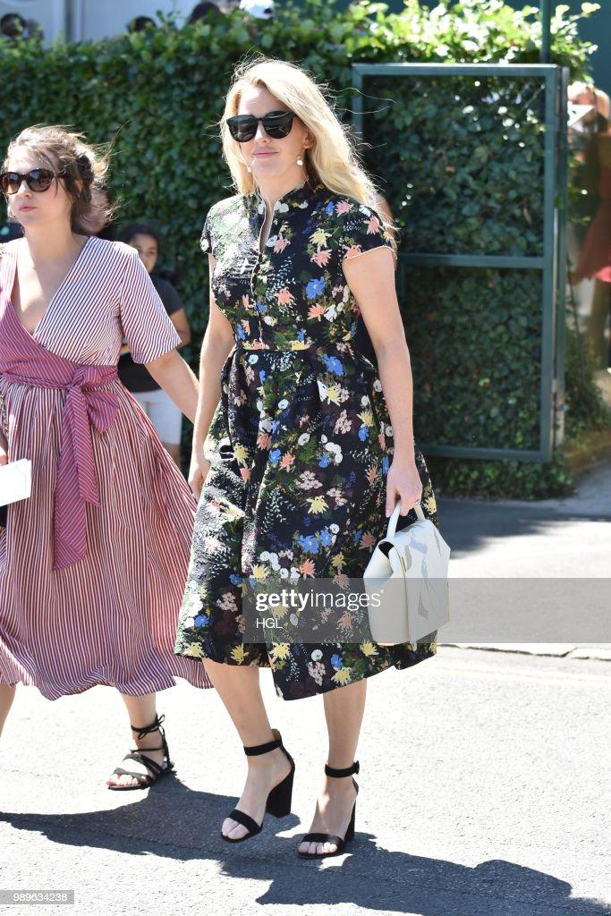 London Celebrity Sightings -  July 02, 2018 : News Photo