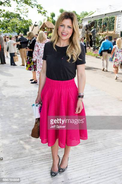 Ellie Harrison attends RHS Chelsea Flower Show press day at Royal Hospital Chelsea on May 22 2017 in London England