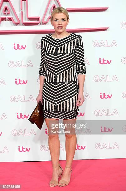 Ellie Harrison attends the ITV Gala at London Palladium on November 24 2016 in London England