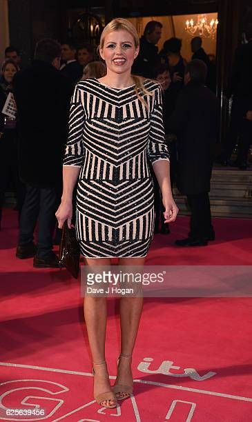 Ellie Harrison attends the ITV Gala hosted by Jason Manford at London Palladium on November 24 2016 in London England