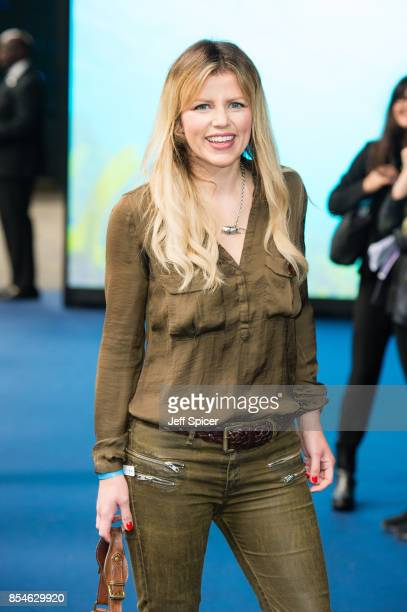 "Ellie Harrison attends the World Premiere of ""Blue Planet II"" on September 27, 2017 in London, United Kingdom."