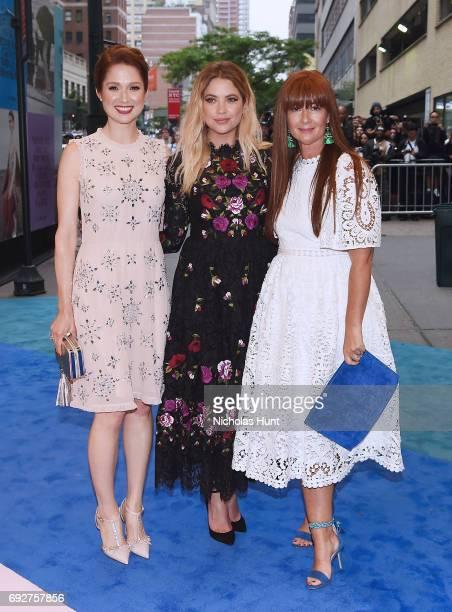 Ellie Kemper Ashley Benson and Deborah Lloyd attend the 2017 CFDA Fashion Awards Cocktail Hour at Hammerstein Ballroom on June 5 2017 in New York City