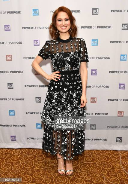 Ellie Kemper attend the 2019 Ad Council Dinner on December 05, 2019 in New York City.