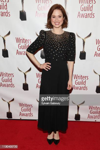 Ellie Kemper attends 71st Annual Writers Guild Awards New York Ceremony at Edison Ballroom on February 17 2019 in New York City