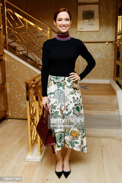 Ellie Kemper attends Glamour x Tory Burch Women To Watch Lunch on September 16, 2018 in Los Angeles, California.