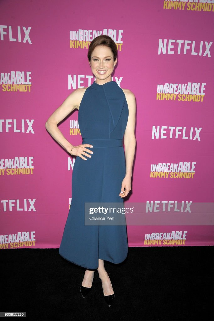 Ellie Kemper attends #NetflixFYSee 'Unbreakable Kimmy Schimdt' for Your Consideration Event at DGA Theater on June 3, 2018 in New York City.