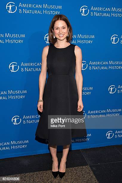 Ellie Kemper attends the 2016 American Museum Of Natural History Museum Gala at American Museum of Natural History on November 17 2016 in New York...