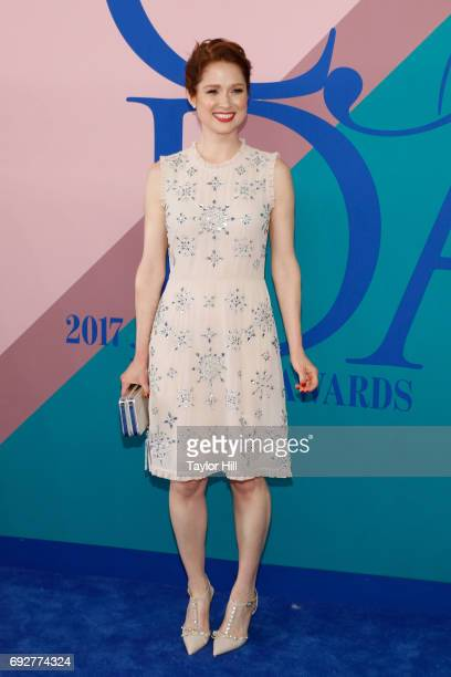 Ellie Kemper attends the 2017 CFDA Fashion Awards at Hammerstein Ballroom on June 5 2017 in New York City