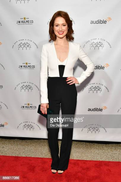 Ellie Kemper attends the 2017 New York Stage Film Winter Gala at Pier Sixty at Chelsea Piers on December 5 2017 in New York City