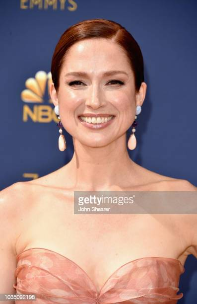Ellie Kemper attends the 70th Emmy Awards at Microsoft Theater on September 17 2018 in Los Angeles California